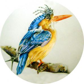 Птица на ветке Набор для Вышивания
