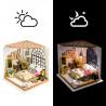 С подсветкой Милая спальня Набор для создания миниатюры румбокс