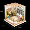 Размеры Милая спальня Набор для создания миниатюры румбокс