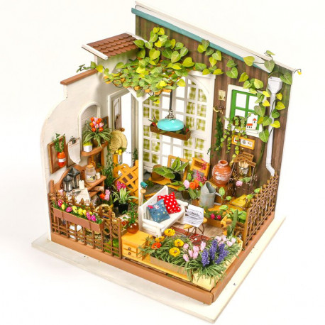 Терраса садовника Набор для создания миниатюры румбокс