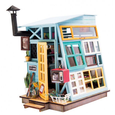 Деревянная хижина Набор для создания миниатюры румбокс