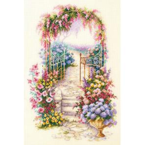 Садовая калитка Набор Для вышивания Чудесная игла 110-001