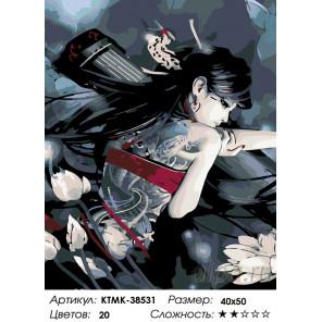 Стремительная Раскраска по номерам на холсте Живопись по номерам KTMK-38531