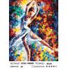 Количество цветов и сложность Стремительный танец Раскраска по номерам на холсте Живопись по номерам KTMK-948845