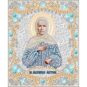 Святая Матрона Московская Канва с рисунком для вышивки бисером