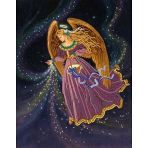 Звездный ангел Канва с рисунком для вышивки бисером