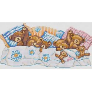 Сладкие сны Канва с рисунком для вышивки бисером