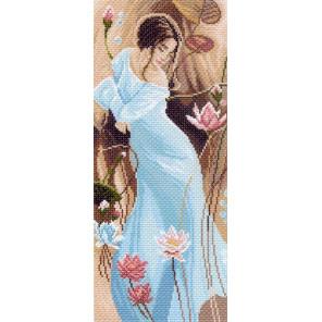 В рамке Романтика Канва с рисунком для вышивки Матренин посад 1051