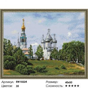 Вологодский кремль Алмазная вышивка мозаика на подрамнике EW10224