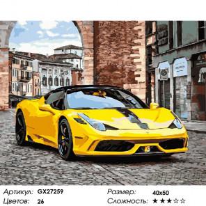 Количество цветов и сложность Стиль и скорость Раскраска картина по номерам на холсте GX27259