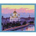 Храм Христа Спасителя Алмазная вышивка мозаика на подрамнике