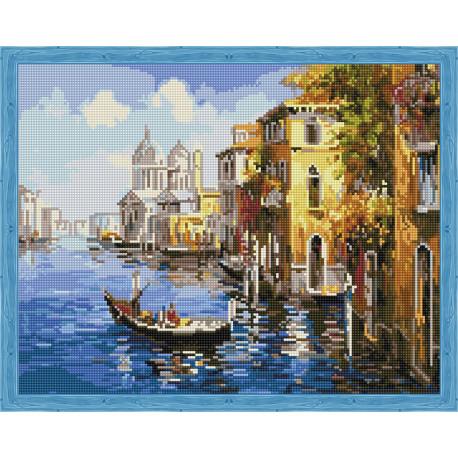 Путешествие по Венеции Алмазная вышивка мозаика на подрамнике
