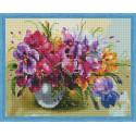 Летние цветы Алмазная вышивка мозаика на подрамнике