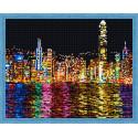 Ночной Нью-Йорк Алмазная вышивка мозаика на подрамнике