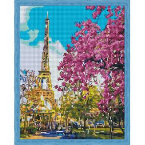 Парижская весна Алмазная вышивка мозаика на подрамнике
