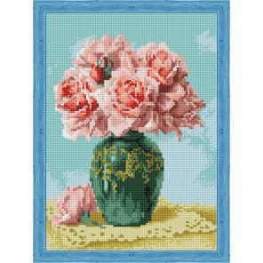 Восточные розы Алмазная вышивка мозаика на подрамнике