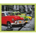 Автомобили ретро Алмазная вышивка мозаика на подрамнике
