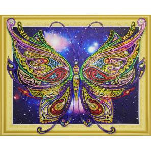 Бабочка Алмазная вышивка мозаика 5D Color Kit