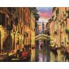 Вечер в Венеции Алмазная вышивка мозаика на подрамнике GF1173