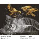 Количество цветов и сложность Мечты кота Алмазная вышивка мозаика на подрамнике GF2902