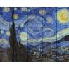 Звездная ночь Картина по номерам на дереве GXT4756