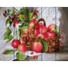Урожай яблок Картина по номерам на дереве GXT26068