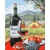 Великолепие вина Раскраска картина по номерам на холсте GX28236