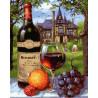 Графское вино Раскраска картина по номерам на холсте GX28186