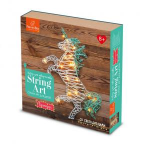 Единорог с гирляндой Набор для творчества Стринг Арт FB606308