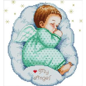 Спящий ангелочек Набор для вышивания R350
