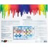 Зонтик Раскраска картина по номерам акриловыми красками на картоне Белоснежка