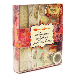 коробка Цветочный Набор для создания альбома Белоснежка