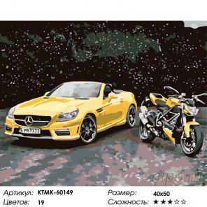 Количество цветов и сложность Мечты романтика Раскраска по номерам на холсте Живопись по номерам KTMK-60149