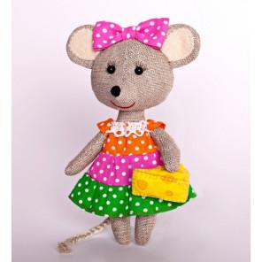 Мышка-Норушка Набор для создания игрушки своими руками