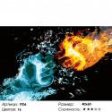 Количество цветов и сложность Сила стихий Раскраска картина по номерам на холсте FT06