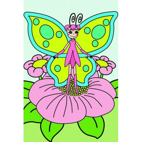 Эльф Раскраска по номерам на холсте Color Kit CA017 10х15 ...