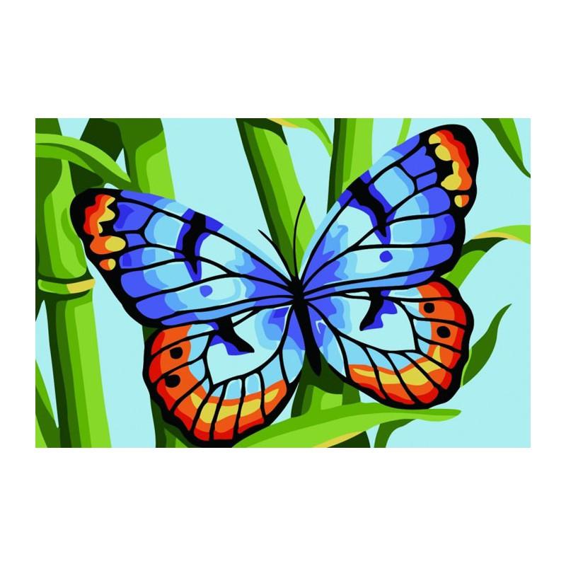 Картинки бабочек для раскраски цветные