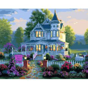 Дом мечты Раскраска картина по номерам на холсте