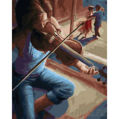 Мелодия танца Раскраска картина по номерам на холсте