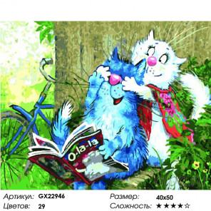Угадай, кто? Раскраска картина по номерам на холсте GX22946