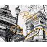 Золотой Париж Раскраска картина по номерам на холсте GX28111