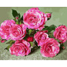 Свежие цветы Раскраска картина по номерам на холсте GX28044