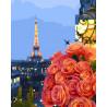 Вечер в Париже Раскраска картина по номерам на холсте GX28440