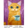 Количество цветов и сложность Вкусный чай Раскраска картина по номерам на холсте GX28600