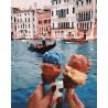 Путешествия.Венеция Раскраска картина по номерам на холсте GX28595