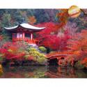 Осень в Японии Алмазная мозаика на подрамнике LG146