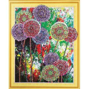 Радуга цветов Алмазная вышивка мозаика 5D Color Kit FKU013