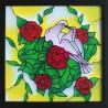 Голуби Набор с рамкой для создания картины-витража Color Kit HL008