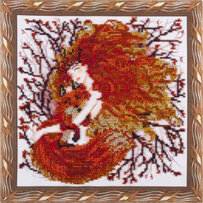 Дитя солнца Набор для вышивания бисером на подрамнике Color Kit OP009