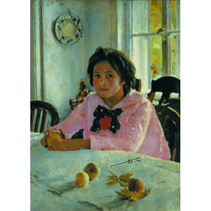Девочка с персиками. В.А.Серов Пазлы Стелла TG100069